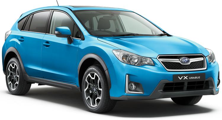 Auto raamfolie voor de Subaru XV
