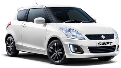 Auto raamfolie voor de Suzuki Swift 3-deurs
