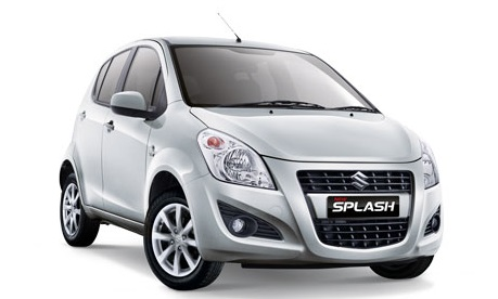 Auto raamfolie voor de Suzuki Splash