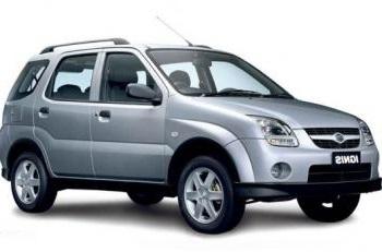 Auto raamfolie voor de Suzuki Ignis