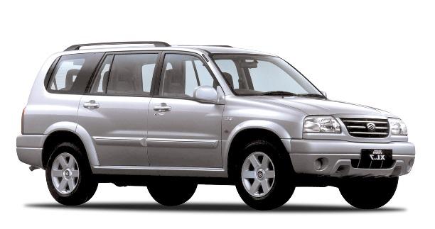 Auto raamfolie voor de Suzuki Grand Vitara XL7