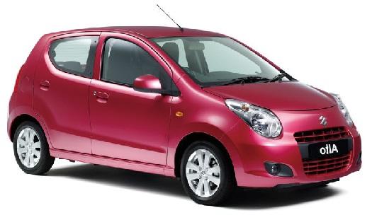 Auto raamfolie voor de Suzuki Alto
