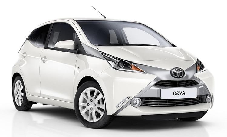 Auto raamfolie voor de Toyota Aygo 5-deurs