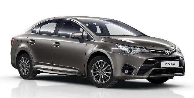 Auto raamfolie voor de Toyota Avensis sedan
