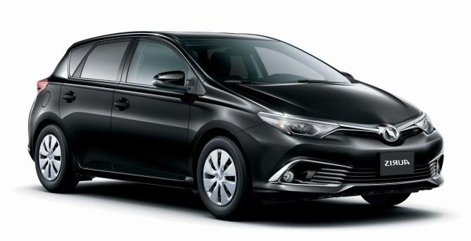 Auto raamfolie voor de Toyota Auris 5-deurs