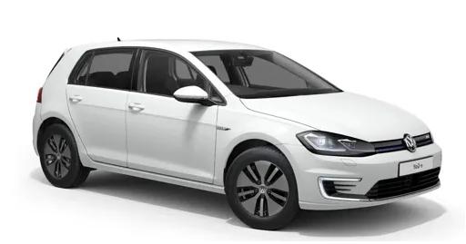 Auto raamfolie voor de Volkswagen E-Golf