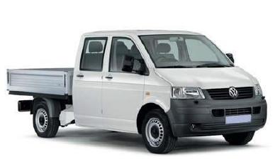 Auto raamfolie voor de Volkswagen T6 Crew cab