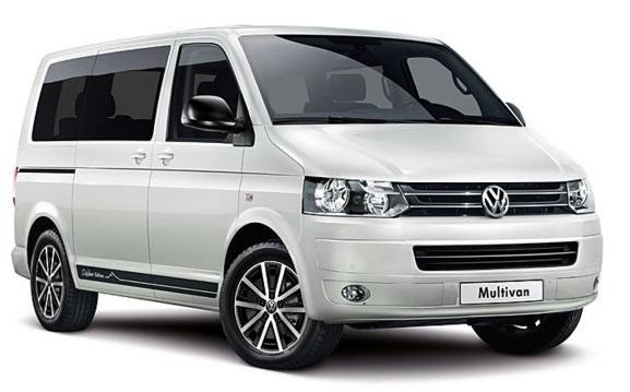 Auto raamfolie voor de Volkswagen T5 Transporter