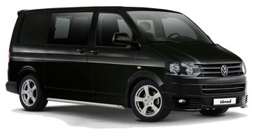 Auto raamfolie voor de Volkswagen T5 Combi