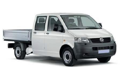 Auto raamfolie voor de Volkswagen T5 Crew cab