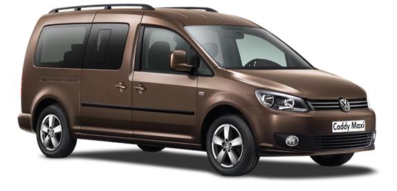 Auto raamfolie voor de Volkswagen Caddy Maxi Life