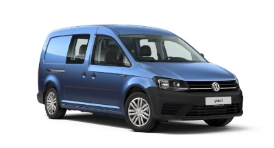 Auto raamfolie voor de Volkswagen Caddy Crew