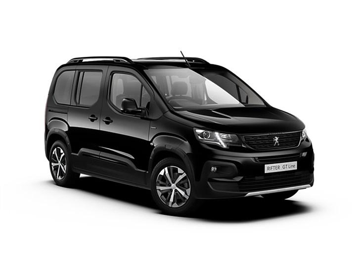 Auto raamfolie voor de Peugeot Rifter MPV L1