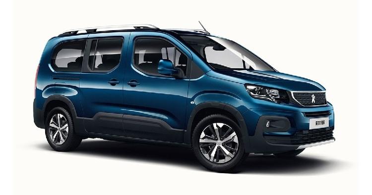 Auto raamfolie voor de Peugeot Rifter MPV L2