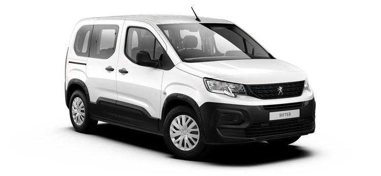 Auto raamfolie voor de Peugeot Rifter L1