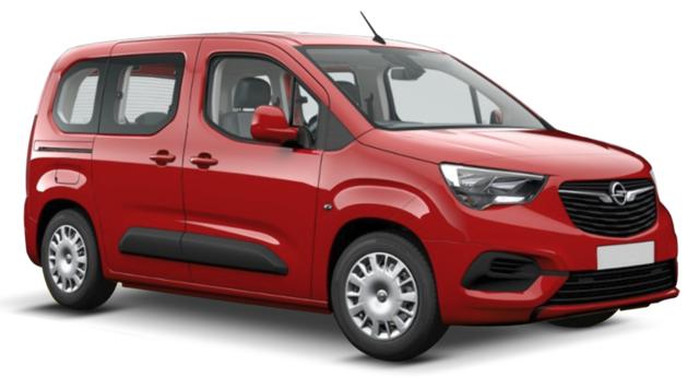 Auto raamfolie voor de Opel Combo L1
