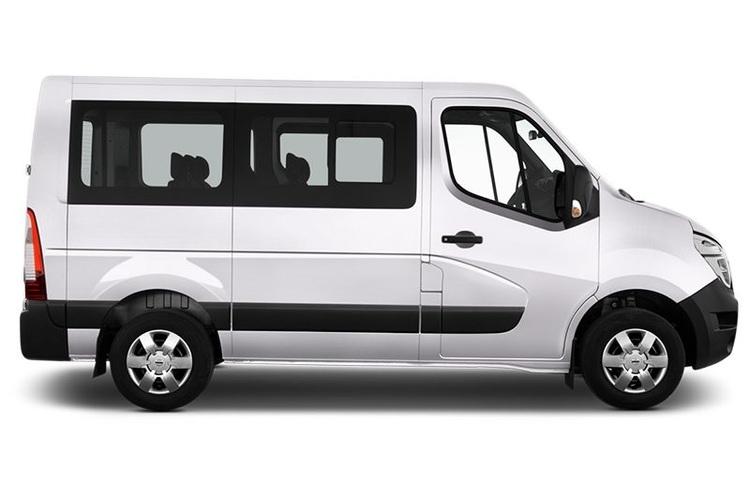 Auto raamfolie voor de Opel Movano