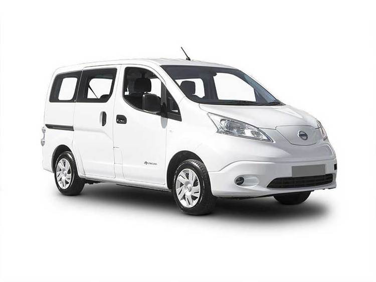 Auto raamfolie voor de Nissan NV200 combi L1