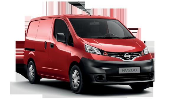 Auto raamfolie voor de Nissan NV200 Van