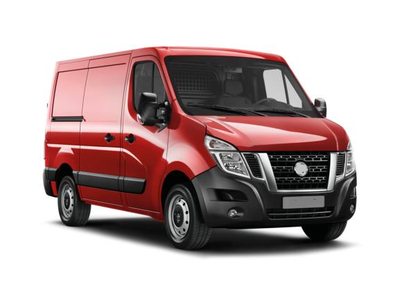 Auto raamfolie voor de Nissan NV400 Van
