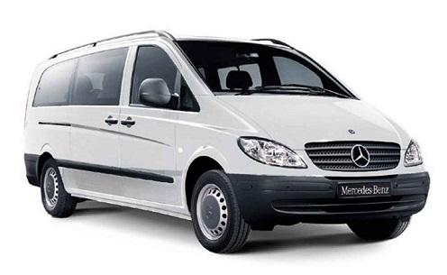 Auto raamfolie voor de Mercedes Viano