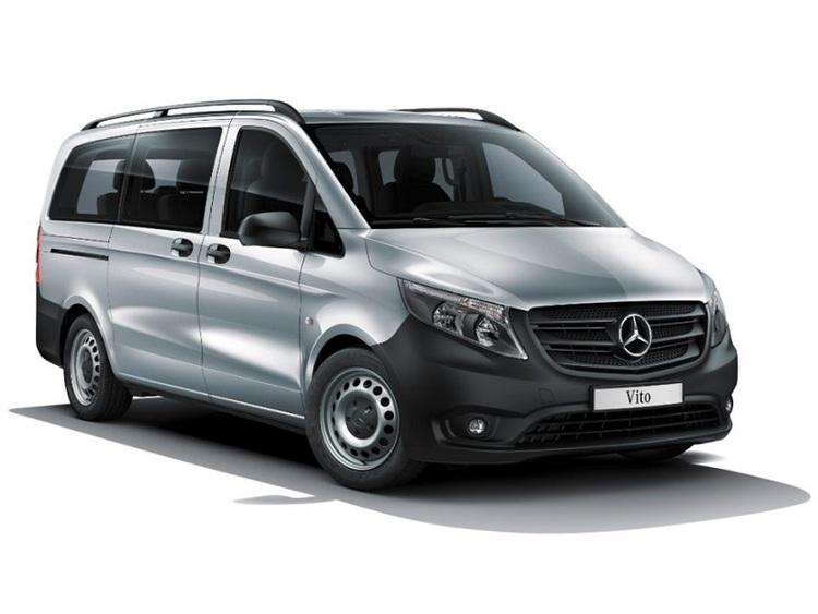 Auto raamfolie voor de Mercedes Vito L1