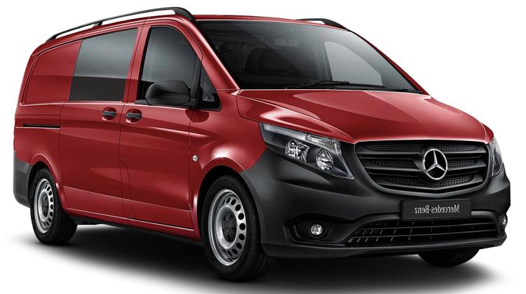 Auto raamfolie voor de Mercedes Vito Van