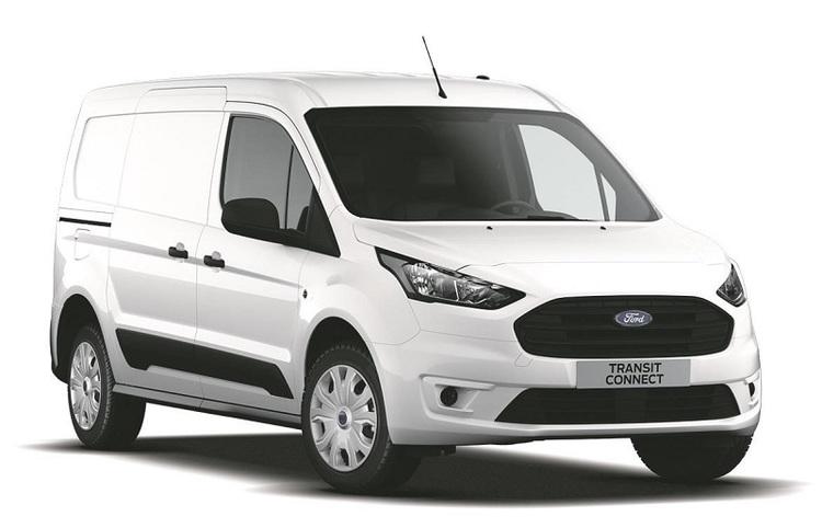 Auto raamfolie voor de Ford Transit Connect van L2