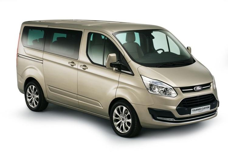 Auto raamfolie voor de Ford Tourneo Custom