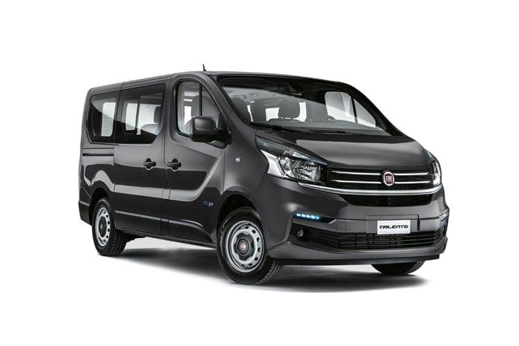 Auto raamfolie voor de Fiat Talento L1