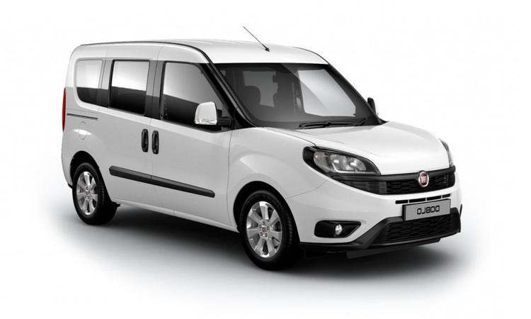 Auto raamfolie voor de Fiat Doblo