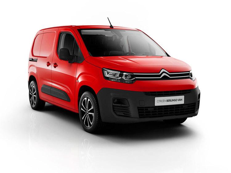 Auto raamfolie voor de Citroën Berlingo Van