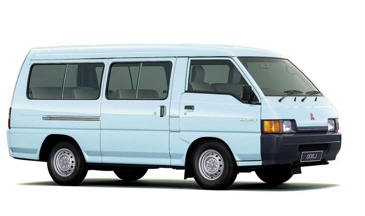 Auto raamfolie voor de Mitsubishi L300