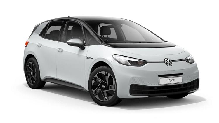 Auto raamfolie voor de Volkswagen ID.3