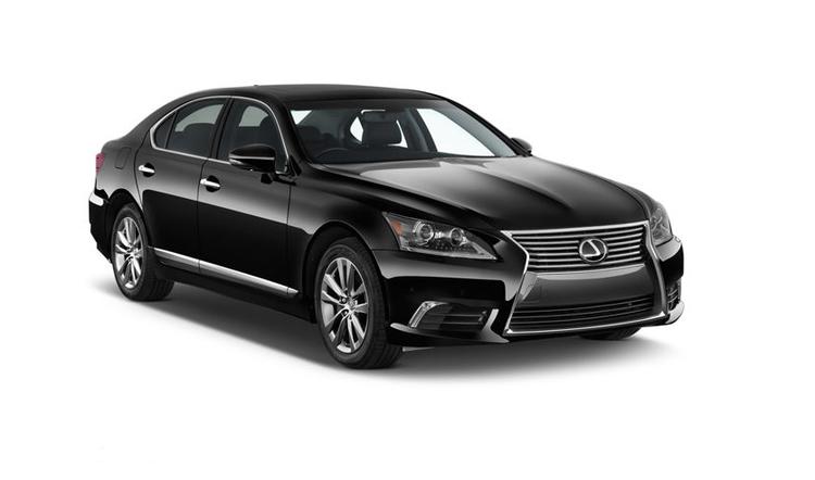 Auto raamfolie voor de Lexus LS