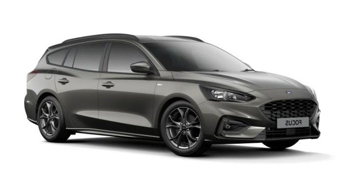 Auto raamfolie voor de Ford Focus combi