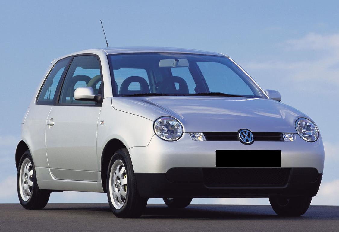Auto raamfolie voor de Volkswagen Lupo.