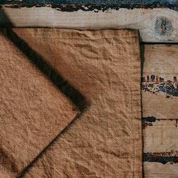 Stentvättad linneservett - Akacia