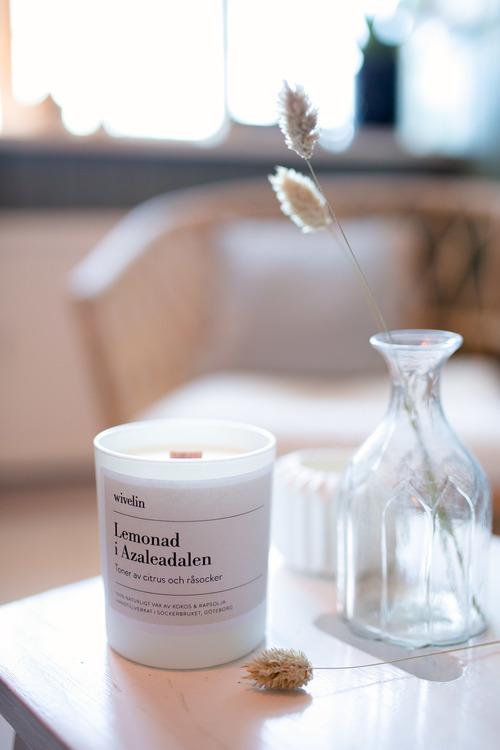 Växtbaserat doftljus - Lemonad i Azaleadalen