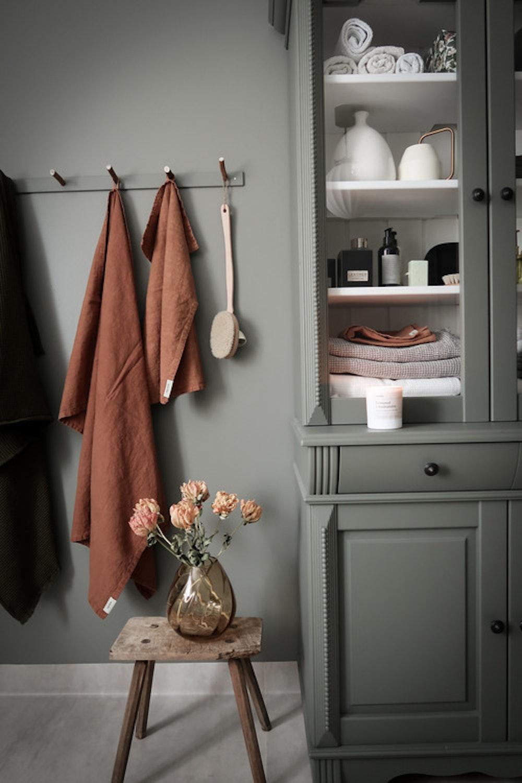 Badrumspaket stentvättat linne - Välj färger
