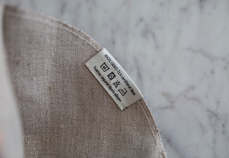 Kaffefilter ofärgat linne 1x4