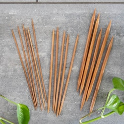 Chiaogoo Bamboo Patina Strumpstickor 20 cm