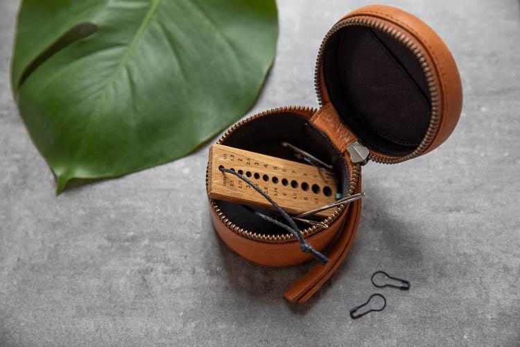 Muud Helsinki Whisky - brun ask i läder