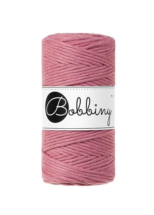 Bobbiny makramégarn Single Twist Regular 3 mm Blossom