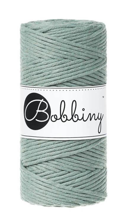 Bobbiny makramégarn Single Twist Regular 3 mm Laurel