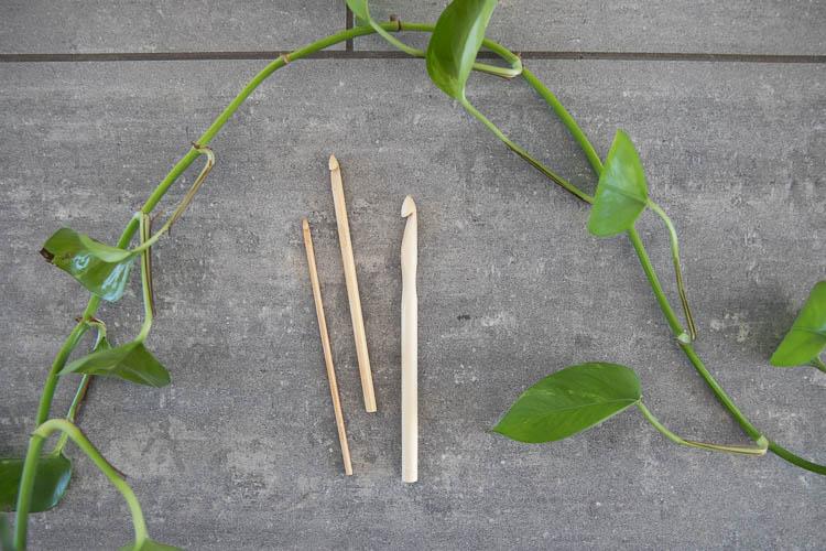 Chiaogoo virknål bambu (3.50mm - 11.50mm)
