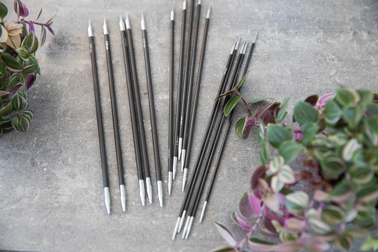 Knitpro Karbonz Strumpstickor 20 cm