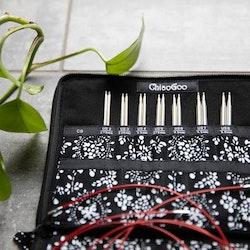 Chiaogoo Twist Small - set med ändstickor 13 cm (2.75 - 5.00 mm)