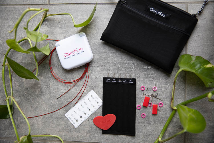 Chiaogoo Twist Mini - set med ändstickor 13 cm (1.5 - 2.5 mm)