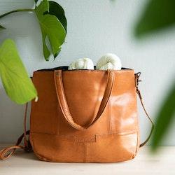 Muud Lofoten Whisky - brun väska i läder